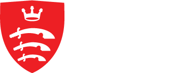 Middlesex University London Logo (Red & White)
